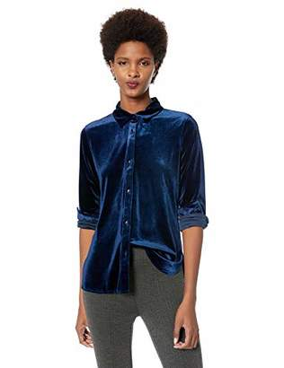 Lysse Women's Velvet Brinkley Button Down Shirt