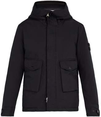 Stone Island Double-hooded technical coat