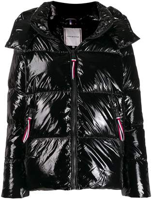 Tommy Hilfiger Shiny Relaxed Fit Puffer jacket