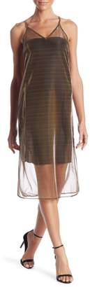 re:named apparel See Me Later Sheer Dress