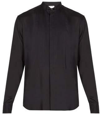 Saint Laurent Lightweight Tuxedo Shirt - Mens - Black