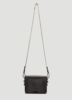 Off-White Off White Binder Clip Shoulder Bag in Black