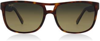 Maui Jim Waterways Sunglasses Matte Tortoise HS267 Polariserade 58mm