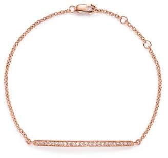 Bloomingdale's Diamond Bar Bracelet in 14K Rose Gold, .25 ct. t.w. - 100% Exclusive