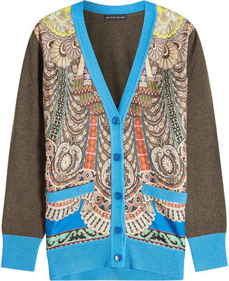 Etro Printed Cardigan with Wool and Cashmere