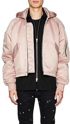 Fear Of God Men's Tech-Satin Hooded Bomber Jacket