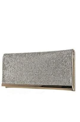 Agp Handbags Rhinestones Flap Clutch