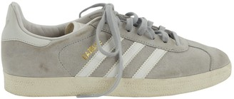 adidas Gazelle Grey Suede Trainers