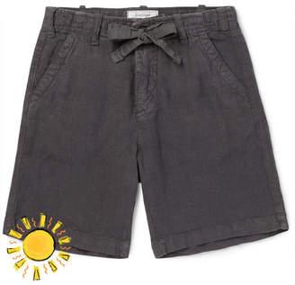 Hartford Boys Ages 2 - 12 Linen-Chambray Drawstring Shorts - Men - Charcoal