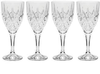 Godinger Dublin Set Of 4 Goblets
