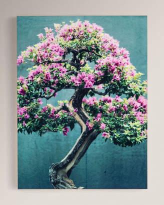 """Purple Tree"" Photography Print on Maple Box Framed Wall Art"