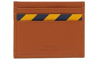 Polo Ralph Lauren Striped leather card holder