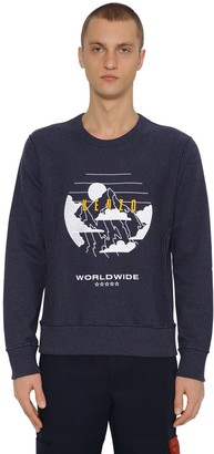 Kenzo Mountain Cotton & Wool Sweatshirt
