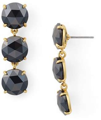 Kate Spade Triple Stone Drop Earrings