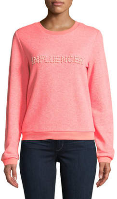 Milly Influencer Pearl Sweatshirt