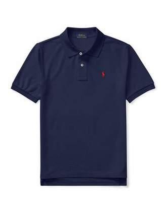 Ralph Lauren Childrenswear Short-Sleeve Logo Embroidery Polo Shirt, Size S-XL