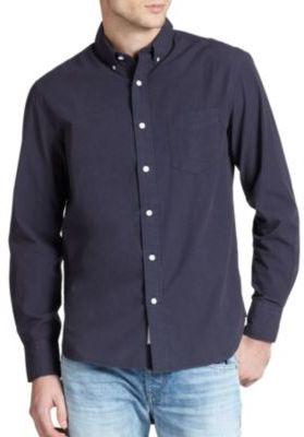 Solid Cotton Shirt $175 thestylecure.com