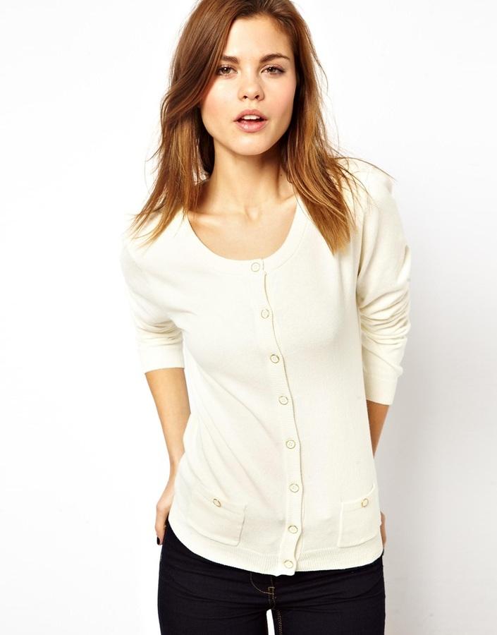 A/Wear A Wear Button Through Cardigan