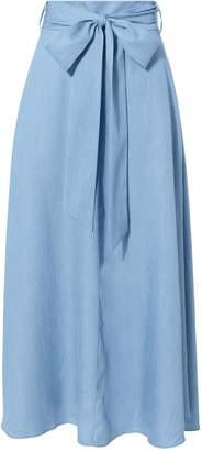 Tibi Denim Midi Skirt
