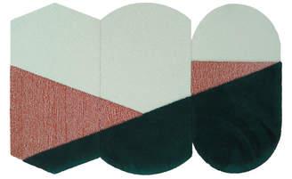 "Portego Abstract Wool Rug ""OCI TRIS"""