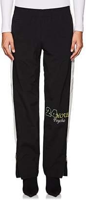 Heron Preston Women's Embroidered Striped Loose Pants