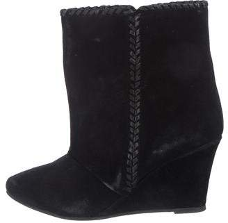 Charles by Charles David Suede Wedge Ankle Boots