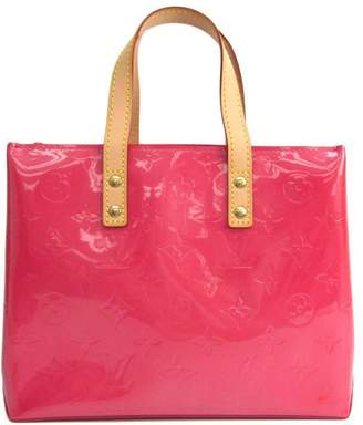 Louis Vuitton Pink Monogram Vernis Leather Reade PM Bag (SHA-10748)