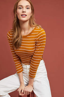 Anthropologie Helm Striped Top