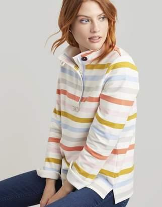 Joules Multi Stripe Saunton Sweatshirt Size 10