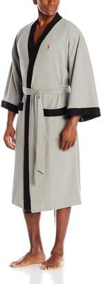 Jockey Men's Waffle Weave Kimono Robe