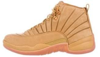 Public School x Jordan 2017 12 Wheat Sneakers