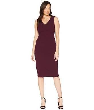 99481c71 Maggy London Scuba Crepe Solid Sheath Dress