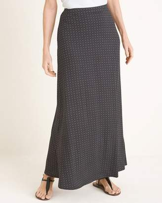 c1c591a675 Chico's Chicos Dotted Diamond-Print Maxi Skirt