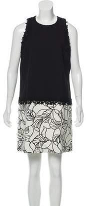 Giambattista Valli Color-Block Sheath Dress
