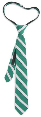 Boy's Nordstrom Stripe Zip Tie $24.50 thestylecure.com