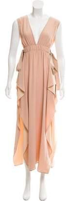 Fendi Sleeveless Evening Dress
