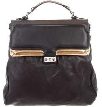 3.1 Phillip Lim Convertible Leather Satchel Black Convertible Leather Satchel
