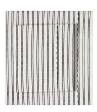 Splendid HOME DECOR Ticking Stripe Cotton Percale Queen Sheet Set