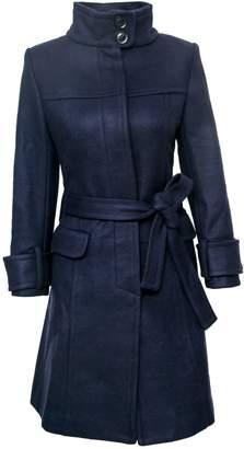 Vhny Blue Trench Coat