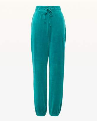 Juicy Couture Embossed Juicy Velour High Waist Zuma Pant