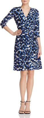 Leota Perfect Wrap Three-Quarter Sleeve Dress $148 thestylecure.com