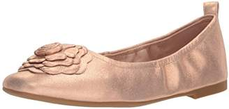 Taryn Rose Women's Rosalyn Powder Metallic Ballet Flat