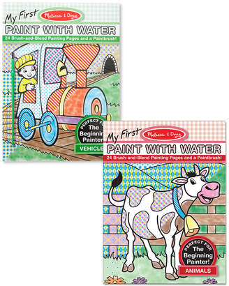 Melissa & Doug My First Paint With Water Bundle: Animals & Vehicles