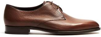 Fratelli Rossetti Grained-leather oxford shoes