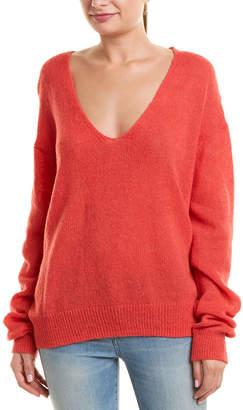 Free People Gossamer Alpaca-Blend Sweater
