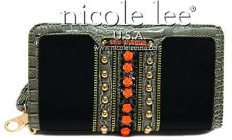 Nicole Lee Summer Flower Studded Wallet Collection