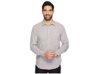 Perry Ellis Long Sleeve Multicolor Check Shirt Men's Long Sleeve Button Up