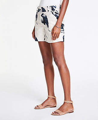 Ann Taylor The Metro Short in Leaves