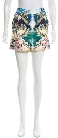 Stella McCartneyStella McCartney High-Rise Hawaiian Shorts w/ Tags