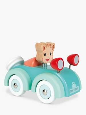 Sophie La Giraffe Wooden Car